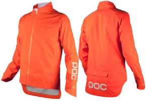 Poc Essential Rain Jacket - Designed for wet conditions with fully taped seams and waterproof zippers