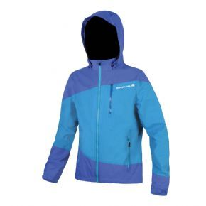 Endura Singletrack Jacket Blue - One more reason to go ride in the rain!