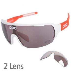 Poc Do Half Blade Avip Orange 2 Lens Sunglasses - Do Half Blade offers improved lower and peripheral vision