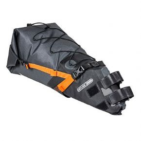 Ortlieb Bikepacking Seatpack - The Duffle RS is made to withstand the rigours of the most adventurous of expeditions