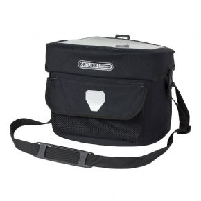 Ortlieb Ultimate 6 Pro Bar Bag 7 litre - GPS or other touch screen mobile devices can be safely stored inside the lid