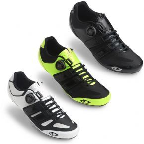 Giro Sentrie Techlace Road Cycling Shoes - Increased ventilation to keep triathletes and time trialists cool