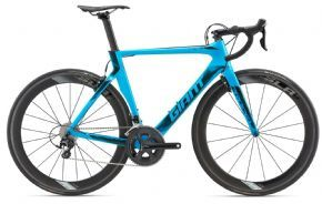 Giant Propel Advanced Pro 2 Aero Road Bike Blue  2018 - Boost wider hub spacing improves wheel stiffness for better control in rugged XC terrain