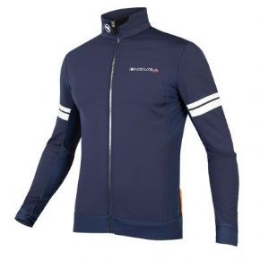 Endura Fs260-pro Sl Thermal Windproof Jacket Navy  2017 - High stretch windproof fabric with thermal lining on front and sleeves