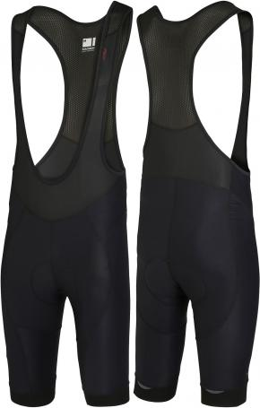 Madison Roadrace Apex Bib Shorts Black  2018 - Durable water repellent coating helps the fabric bead off the rain keeping you dryer