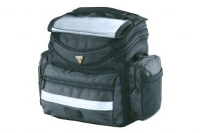 Topeak Tourguide Bar Bag  2021 - Medium capacity handlebar bag with multiple pockets to keep the contents organised.