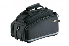Topeak Trunk Bag Dxp W/straps 2021 - Complete with fold-out panniers expanding top and water bottle holder.