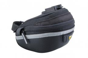 Topeak Wedge Bag 2 Small  2021 - Large dual side opening molded panels provide easy access to a complete 17 piece tool kit