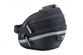 Topeak Wedge Bag 2 Medium  2021 - Large dual side opening molded panels provide easy access to a complete 17 piece tool kit