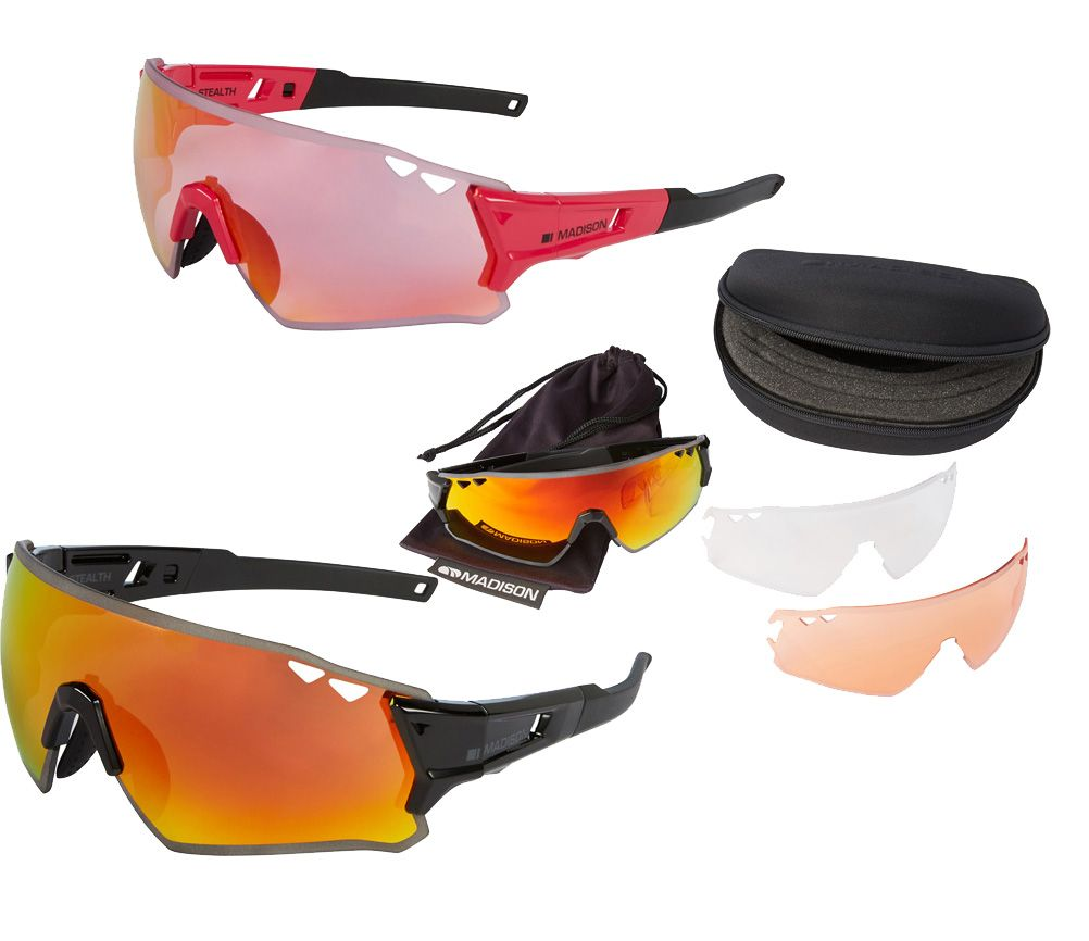 Madison Stealth Glasses 3 Lens Pack
